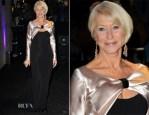 Helen Mirren In Bruce Oldfield - Evening Standard Theatre Awards 2013