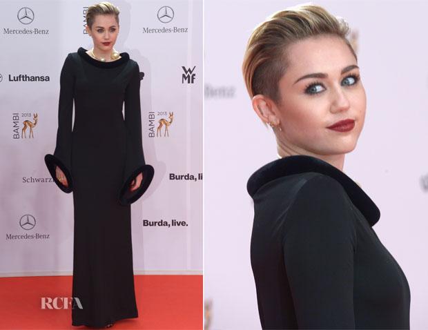 Miley Cyrus In Vintage Jean Paul Gaultier  - Bambi Awards 2013