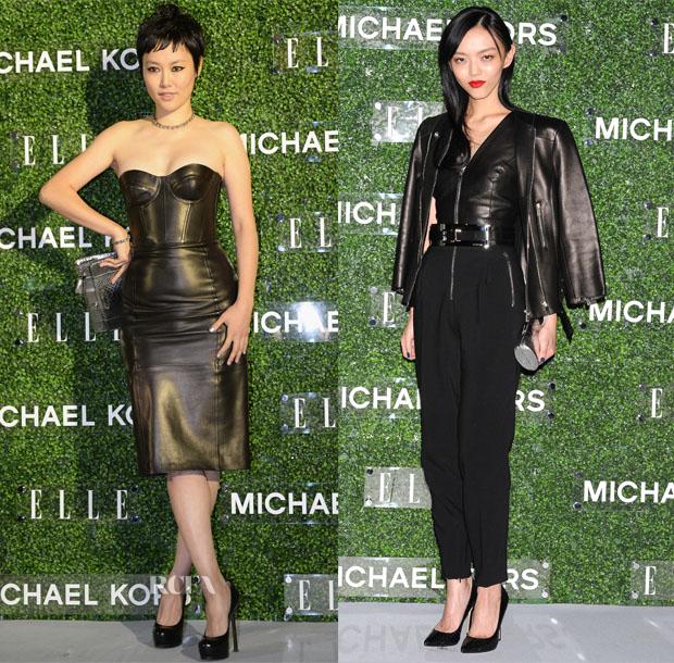 Rinko Kikuchi and Rila Fukushima In Michael Kors - Michael Kors Elle Japan Event #MKTOKYO