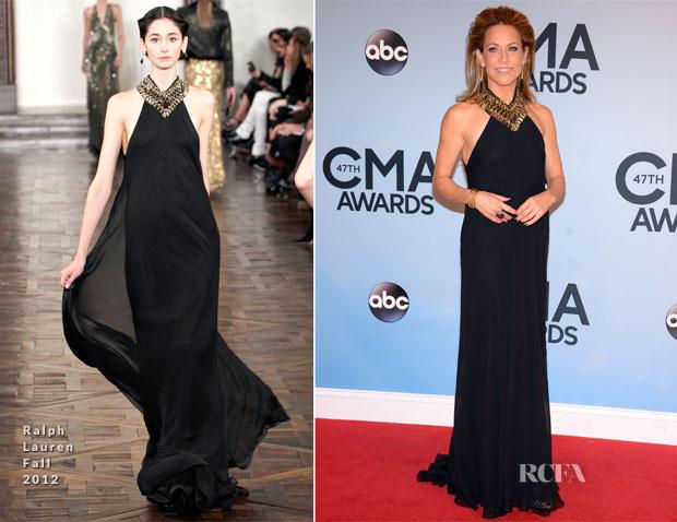 Sheryl Crow In Ralph Lauren - 2013 CMA Awards