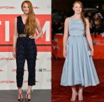 Sophie Turner In ALICE by Temperley & Dolce & Gabbana - 'Another Me' Rome Film Festival Photocall & Premiere