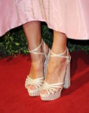 Laura Bailey's Charlotte Olympia 'Rising Star' sandals