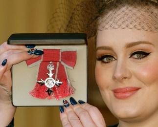 Adele in Stella McCartney