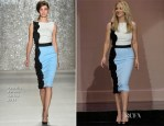 Christina Applegate In Pamella Roland - The Tonight Show with Jay Leno