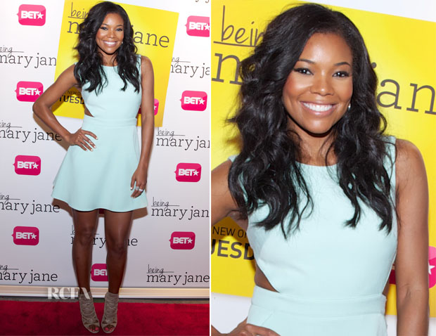 Gabrielle Union In Rachel Zoe - 'Being Mary Jane' Art Basel Celebration