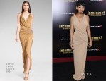 Meagan Good In Donna Karan - 'Anchorman 2: The Legend Continues' New York Premiere