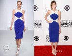 Allison Williams In David Koma - 2014 People's Choice Awards