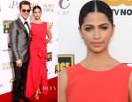 Matthew McConaughey In Lanvin & Camila Alves In Paule Ka - 2014 Critics' Choice Movie Awards