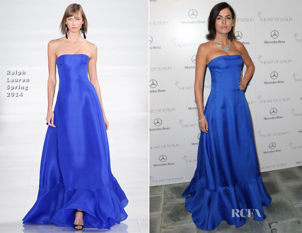 Camilla Belle In Ralph Lauren - Art of Elysium Heaven Gala