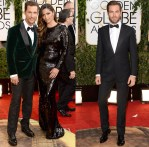 2014 Golden Globe Awards Menswear Roundup