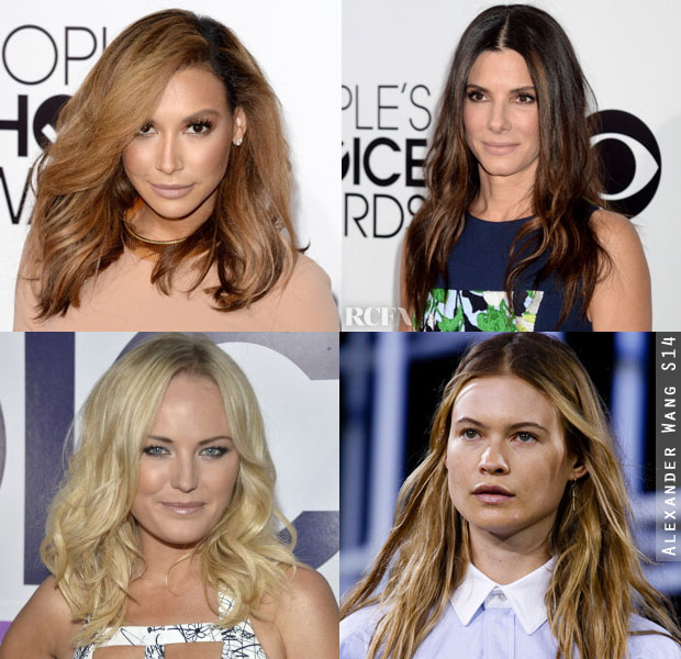 Hair Trend Spotting People's Choice Awards Relaxed Waves