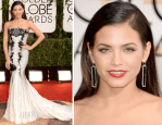 Jenna Dewan-Tatum In Roberto Cavalli – 2014 Golden Globe Awards