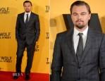 Leonardo DiCaprio In Giorgio Armani - 'The Wolf Of Wall Street' London Premiere