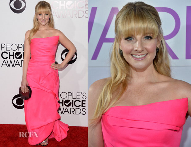 Melissa Rauch In Rubin Singer - 2014 People's Choice Awards
