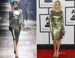 Rita Ora In Lanvin - 2014 Grammy Awards