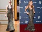Sofia Vergara In Zuhair Murad - InStyle and Warner Brothers Golden Globes Awards Party