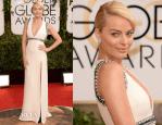 Margot Robbie In Gucci – 2014 Golden Globe Awards