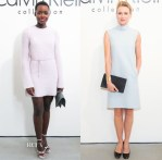 Calvin Klein Collection Fall 2014 Front Row