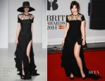 Daisy Lowe In Sister by Sibling - Brit Awards 2014