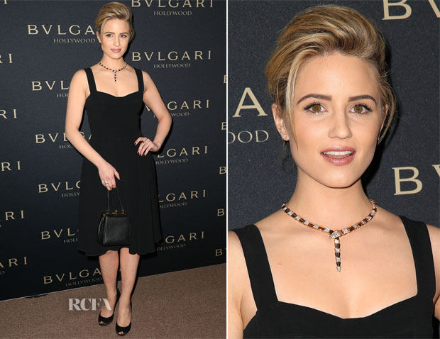 Dianna Agron In Dolce & Gabbana - BVLGARI Presents 'Decades Of Glamour'