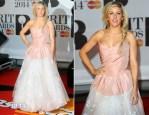 Ellie Goulding In Vivienne Westwood - Brit Awards 2014