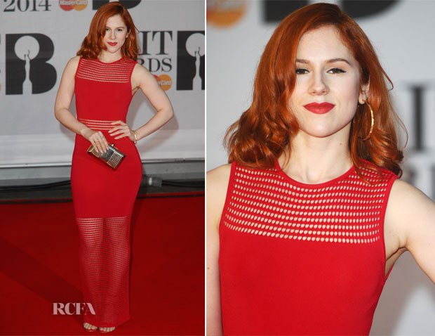 Katy B In Torn By Ronny Kobo - Brit Awards 2014