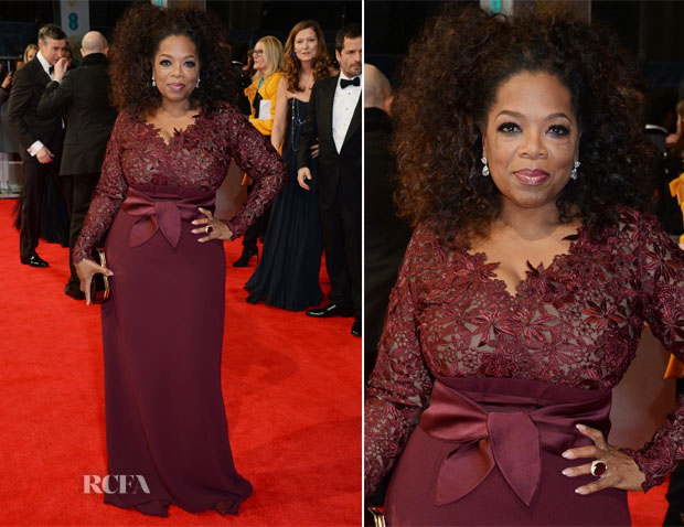 Oprah Winfrey In Stella McCartney - 2014 BAFTAs