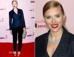 Scarlett Johansson In Christian Dior - Cesar Film Awards 2014
