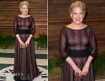 Bette Midler In Azzedine Alaia - Vanity Fair Oscar Party 2014
