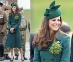 Catherine, Duchess of Cambridge In Hobbs -  St Patrick's Day Parade