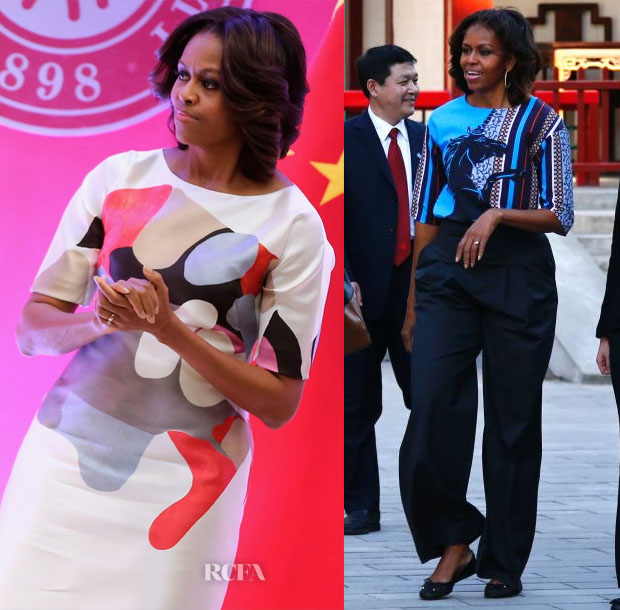 First Lady Michelle Obama Travels to China 2