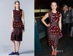 Kristin Davis In Roksanda Ilincic - 'Fatal Attraction' Press Night After Party