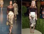Poppy Delevigne In Dolce & Gabbana - Bvlgari Celebrates 130 Years In Rome