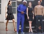 Scarlett Johansson In Antonio Berardi - 'Captain America: The Winter Soldier' Beijing Photocall