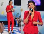 Selena Gomez In Emporio Armani - We Day California