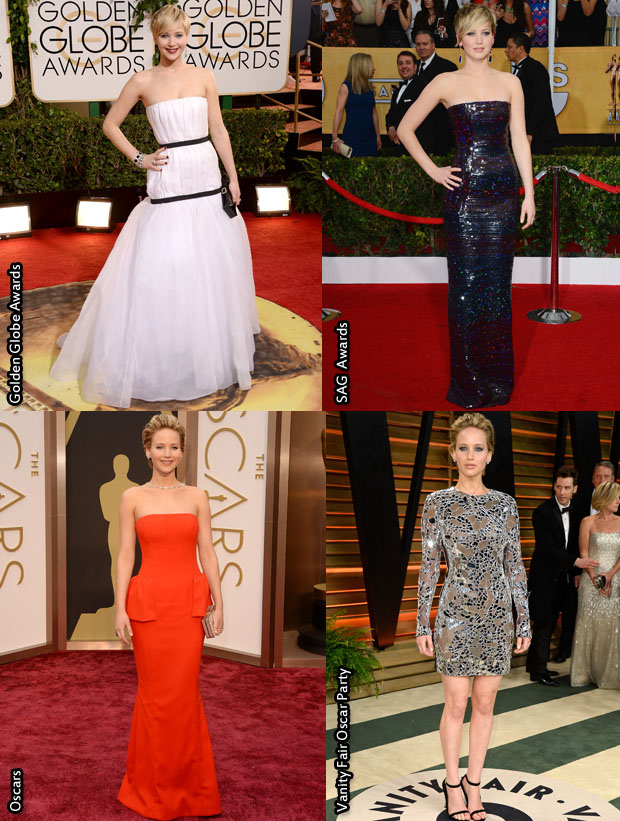 Which Was Your Favourite Jennifer Lawrence 2014 Awards Season Look