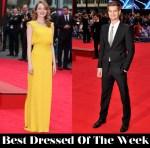 Best Dressed Of The Week - Emma Stone In Atelier Versace & Andrew Garfield In Alexander McQueen