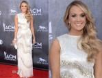 Carrie Underwood In Oscar de la Renta - ACM Awards 2014