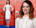 Emma Stone In Dolce & Gabbana - 'The Amazing Spider-Man 2: Rise Of Electro' Rome Photocall