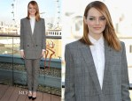 Emma Stone In Saint Laurent - 'The Amazing Spider-Man 2: Rise of Electro' London Photocall