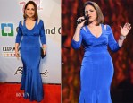 Gloria Estefan In Memeka by Gustavo Cadile - 18th Annual Keep Memory Alive 'Power of Love Gala' Benefit