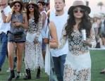 Selena Gomez In Free People - Coachella Music Festival 2014