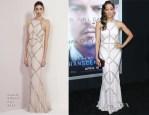 Tia Mowry In Rachel Gilbert - 'Transcendence' LA Premiere