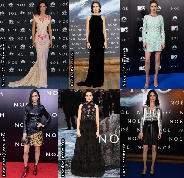 Which Was Your Favourite Jennifer Connelly 'Noah' Promo Tour Look