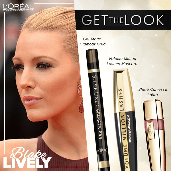 Get The Look Blake Livelys Cannes Couture Makeup Red
