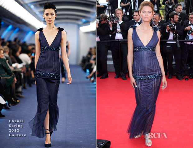 Bianca Balti In Chanel Couture - 'Clouds Of Sils Maria' Cannes Film Festival Premiere