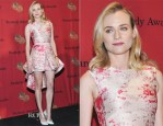 Diane Kruger In Giambattista Valli Couture - 73rd Annual George Foster Peabody Awards