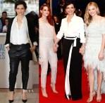 Juliette Binoche In  Armani Privé - 'Clouds Of Sils Maria' Cannes Film Festival Premiere