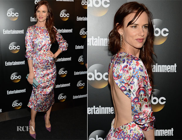 Juliette Lewis In  ALICE by Temperley - Entertainment Weekly & ABC Upfronts Party