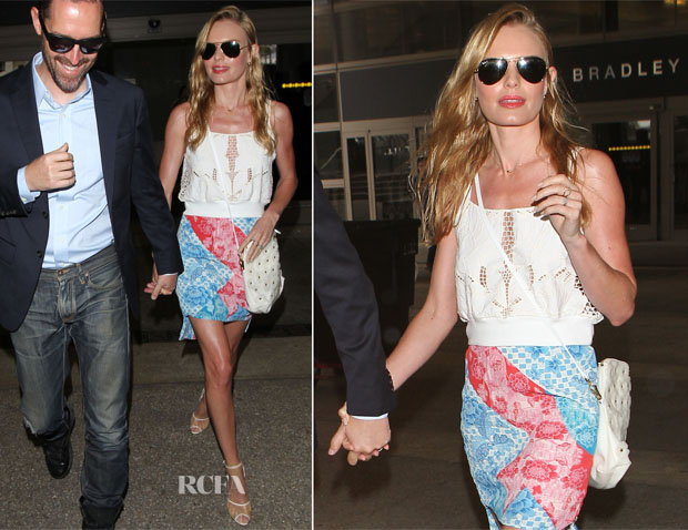 Kate Bosworth In H&M and Topshop - LAX